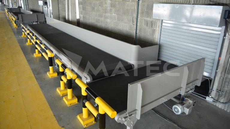 Carousel infeed conveyors / Bandas de alimentación a carrusel